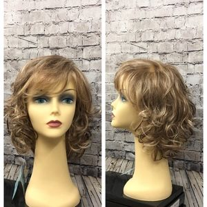 Crystal High Society monofilament synthetic wig